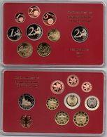 Germany - 1 2 5 10 20 50 Cent 1 2 2 Euro 2011 A UNC Set 9 Coins In A Case Ukr-OP - Deutschland