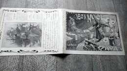 Bon Noël Le Petit écho De La Mode  Supplément N° 51 Déc 1902 Enfants Publicités Calendrier - Fashion
