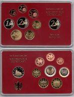 Germany - 1 2 5 10 20 50 Cent 1 2 2 Euro 2011 D UNC Set 9 Coins In A Case Ukr-OP - Duitsland