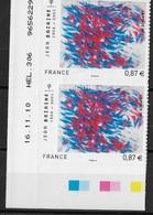 Adhésif En Paire Datée N°550 - France