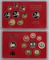 Germany - 1 2 5 10 20 50 Cent 1 2 2 Euro 2013 D UNC Set 9 Coins In A Case Ukr-OP - Duitsland