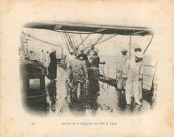 BRESIL  ARRIVEE DE LA DELEGATION DU PERE LA LIGNE  CAMPAGNE DU DUGUAY TROUIN - Rio De Janeiro