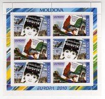 Moldova 2010 EUROPA CEPT POSTEUROP Libri Per Bambini Kinderbücher Europe Children's Books M/S - Europa-CEPT