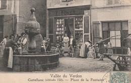 VALLEE DU VERDON CASTELLANE Place De La Fontaine 331G - Castellane
