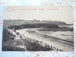Donville Les Bains La Plage Vue Sur Granville - France