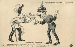 MILITAIRE SATIRIQUE  EMBARRAS D'EMPEREURS - Humour