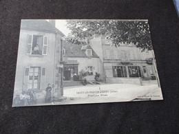 * SAINT LEOPARDIN D AUGY - PRINCIPAUX HOTELS + BOULANGERIE - France