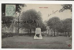 75 - TOUT PARIS 03 - #942 - Square Du Temple - Statue De Béranger +++ Coll. F. FLEURY +++ - District 03