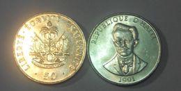 Haiti - 50 Centimes 1991 AUNC / UNC Ukr-OP - Haití