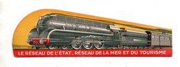 Chemins De Fer De L'etat. Locomotive. - Bookmarks