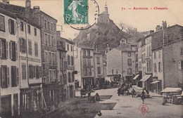CHAMPEIX - ISSOIRE  - PUY DE DÔME -  (63)  -  CPA ANIMÉE DE 1909. . - France