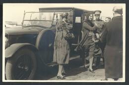 +++ CPA - Photo Carte - Foto Kaart -  Famille Royale Belge - Belgique - Auto Voiture Automobile   // - Royal Families
