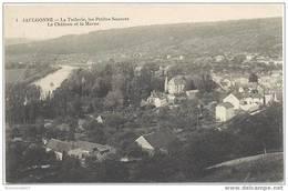 CPA JAULGONNE - La Tuilerie , Les Petites Sources , Le Château Et La Marne - 14/05/1914 - Other Municipalities