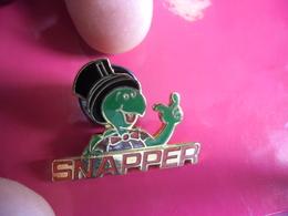 PIN'S TORTUE SNAPPER - Turtle Chapeau Haut De Forme - Animaux