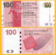 Hong Kong 100 Dollars P-299 2016 Standard Chartered Bank UNC - Hong Kong