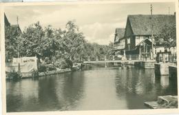 Rheinbischofsheim 1954 (Das Schöne Hanauerland); Am Mühlbach - Geschrieben. (Kurt Görtz - Düsseldorf) - Freiburg I. Br.
