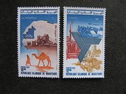 Mauritanie: TB Paire N° 339 Et N° 340, Neufs X. - Mauritania (1960-...)