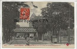 75 - TOUT PARIS 12 - #955 - Rue Michel-Bizot Prise De La Rue Montempoivre +++ Coll. F. FLEURY +++ 1908 +++ - Arrondissement: 12