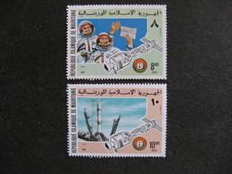 A). Mauritanie: Paire N° 344 Et N° 345, Neufs XX. - Mauritanië (1960-...)