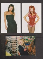 SPICE GIRLS - 10 Cards With 1 Or 2 Girls - Unused - Writing On Backs - Muziek En Musicus