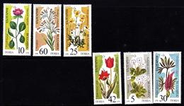 Bulgaria Scott 3392-3397 1989 Endangered Plants, Mint Never Hinged - Ongebruikt