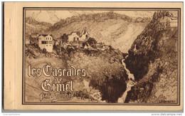 * CARNET COMPLET 12 CP : LES CASCADES DE GIMEL , PAR MICHEL - Frankrijk