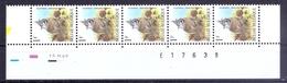 379 * BUZIN Datumstrook * Nr 2759 * 16-12-99 * Postfris Xx * FLUOR PAPIER - 1985-.. Vogels (Buzin)