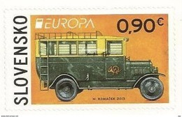 2013 EUROPA CEPT : SLOVENSKO - Booklet Stamps - Self Adhesive - MNH (**) - 2013