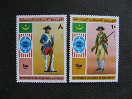 A). Mauritanie: TB Paire N° 346 Et N° 347, Neufs XX. - Mauritanië (1960-...)