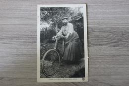 THAON LES VOSGES (88) - MADAME DELAIT, CYCLISTE - Thaon Les Vosges