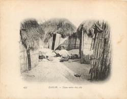 SENEGAL DAKAR DAME NOIRE CHEZ ELLE CAMPAGNE DU DUGUAY TROUIN - Senegal