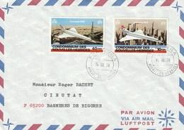 Concorde Sur Lettres N° 527 à 530 - Briefe U. Dokumente