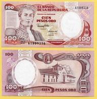 Colombia100 Pesos Oro P-426e 1991 UNC - Colombie