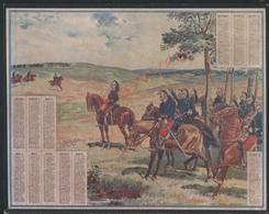 MILITARIA ANCIEN CALENDRIER MILITAIRE SOLDATS DRAGONS 1906 : - Calendars