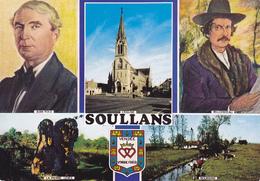 85 SOULLANS / 3 VUES - PORTRAIT DE JEAN YOLE ET DE MILCENDEAU - Soullans