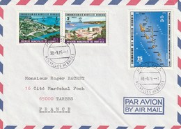 Carte Archipel N° 432 à434 - Leyenda Francesa