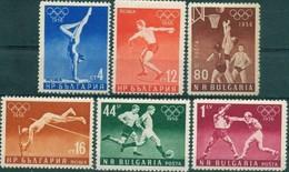 Olympic Games Melbourne - Bulgaria / Bulgarie 1956 - Set MNH** - Sommer 1956: Melbourne
