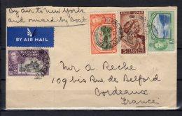 "Trinidad & Tobago - N° 138 , 143 , 144 Et 151 Obli/sur Lettre Voyagée "" By Air Mail "" - - Trinité & Tobago (1962-...)"