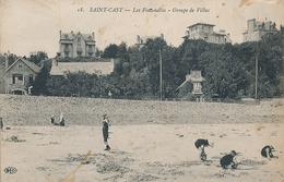 SAINT CAST - N° 18 - LES FONDELLES - GROUPE DE VILAS (AVEC CACHET HOPITAL PLANCOET CREHEN N° 16) - Saint-Cast-le-Guildo