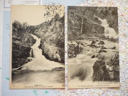 Mortain Vallée De La Cance La Grande Cascade 2 Cartes - Autres Communes