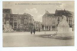Blankenberge Blankenberghe Monument Des Combattants Et Monument Conscience - Blankenberge
