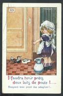 +++ CPA - Carte Fantaisie - Illustrateur BERTIGLIA - Enfant Fille Fillette Girl - Humour    // - Bertiglia, A.