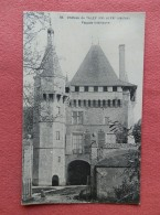 Dep 41 , Cpa Chateau De TALAY , 53 , Façade Intérieure    (131) - France