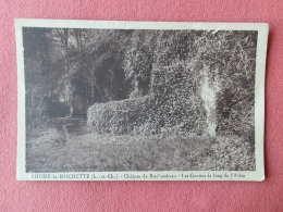 Dep 41 , Cpa  THORE La ROCHETTE , Chateau De Rochambeau , Les Grottes Le Long De L'allée   (133) - France