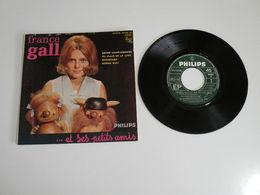 France Gall, Sacré Charlemagne / Au Clair De La Lune / Nounours / Bonne Nuit  (Vinyle 45 T - 4 Titres 1964) - Collector's Editions