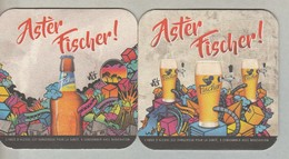 Sous-bocks **neuf ** FISCHER  Ile De LA REUNION Océan Indien.Biere Birra Cerveza Piwo Pils 1 Scanne Recto/verso - Beer Mats