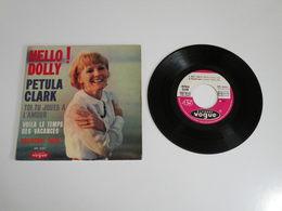Petula Clark, Hello Dolly / Voilà Le Temps Des Vacances  (Vinyle 45 T - 4 Titres 1965) - Collector's Editions