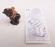 Kinder Surprise Schimpansenmama Mit Kind Chimpanzé DE 1998 + Bpz - Mountables