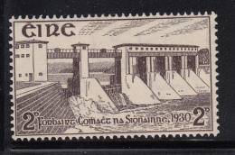 Ireland 1930 MH Scott #83 2p Shannon River Hydroelectric Station - 1922-37 Stato Libero D'Irlanda