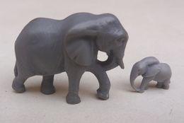 Kinder Surprise Mamafant Und Babyfant  Elephant DE 1997 - Mountables